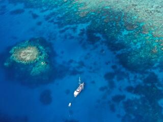 Moorings on the Outer Egde of the Great Barrier Reef