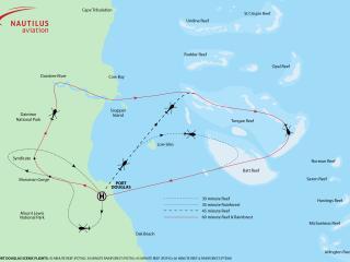 30-45-60 Minute Scenic Flights (ex Port Douglas)