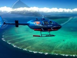 Scenic Helicopter Ride over the Reef