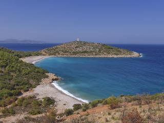 Chios Tranquil Beach and Peninsula, Greece