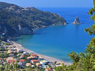 Agios Gordios Beach, Corfu, Greece