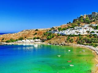 Lindos Bay Rhodes