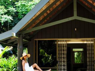 Palm Bungalow Balcony