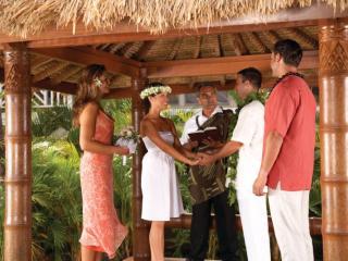 Hawaii Outrigger Wedding