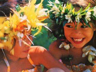 Kids in Hawaii