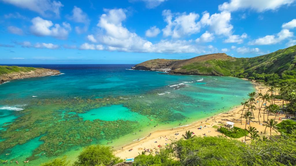 Hanauma Bay Nature Preserve, Hawaii, Oahu,