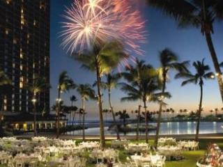 Fireworks at Hilton