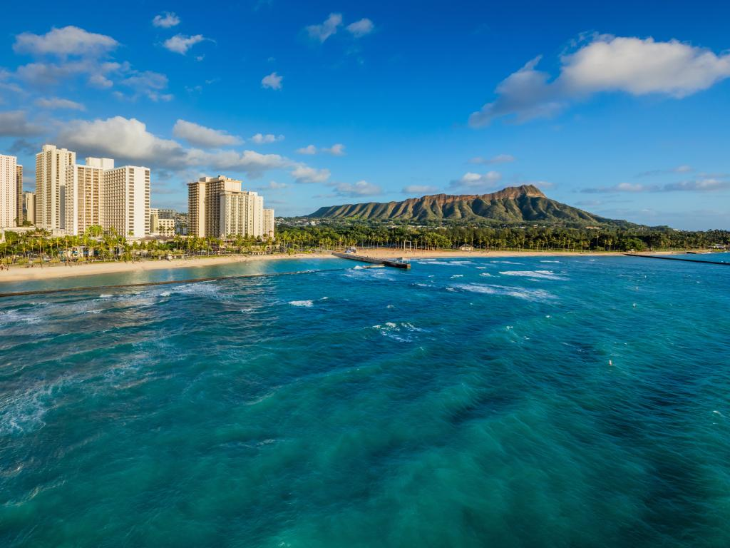 Waikiki Beach Marriott Aerial
