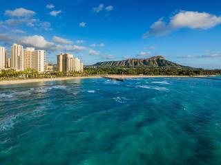 Waikiki Beach Marriott Aerial