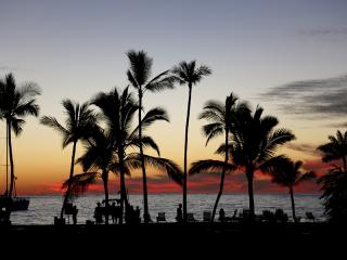 Big Island, Hawaii, Kona, Sunset
