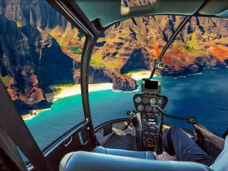 Helicopter, Hawaii, Na Pali, Na Pali Coast, Kauai