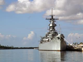 Stars & Stripes - USS Arizona - Battleship Missouri Tour