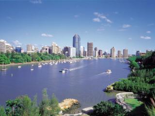 Brisbane City and Brisbane River