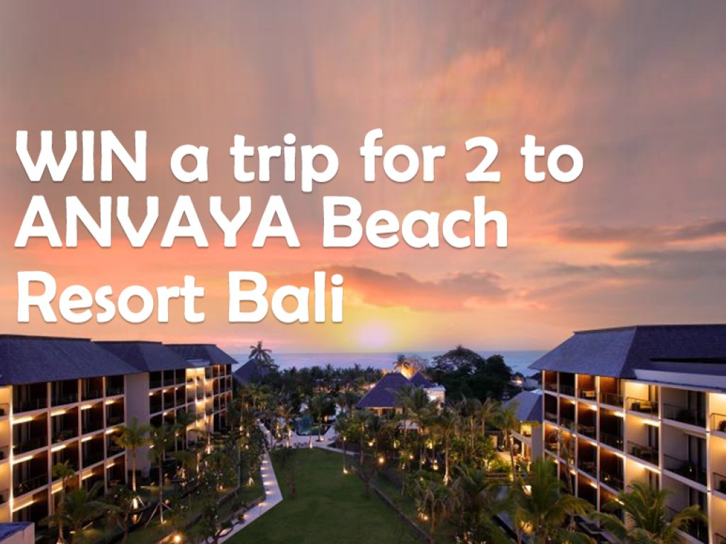 WIN A 5 Night Holiday For 2 To Bali