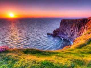 Cliffs of Moher Sunset, Ireland