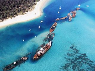 Moreton Island Tangalooma Wrecks