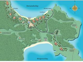 Bedarra Map