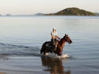 Horseriding on Dunk Island