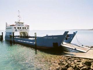 Vehicle Barge to Fraser Island