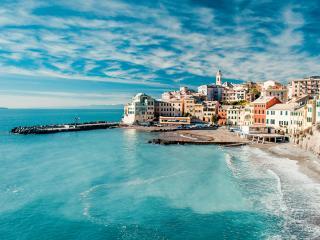 View Of Bogliasco, Genoa