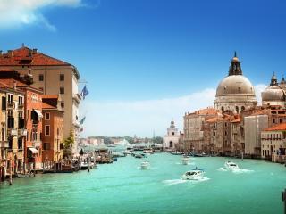 Venice Grand Canal & Basilica Santa Maria