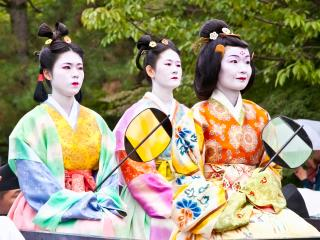 Kyoto Geisha Girls