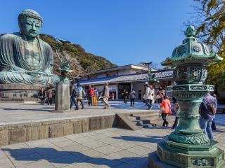 Daibutsu, Great Buddha of Kamakura, Japan