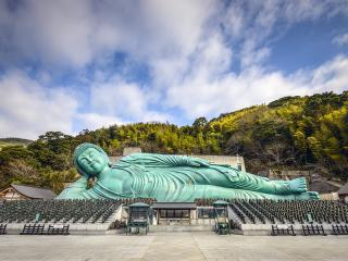 Reclining Buddha of Nanzoin Temple, Fukuoka