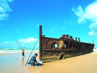 Kingfisher Bay Resort Maheno Wreck