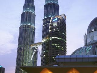 View of the Petronas Twin Tower
