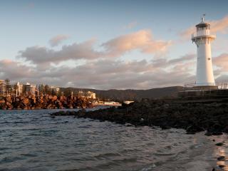 Lighthouse Sunrise at Wollongong