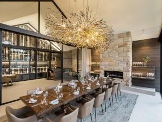 Private Dining Room Wine Wall