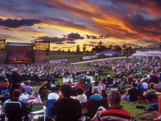 Wyndham Estate Opera in the Vineyards Sunset