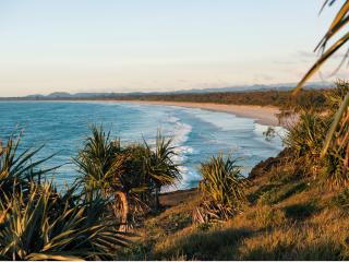 View to Kingscliff and Salt - Destination NSW