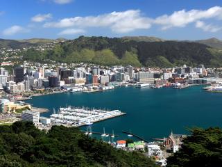 Central Wellington New Zealand