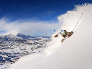 New Zealand Ski Coronet Peak