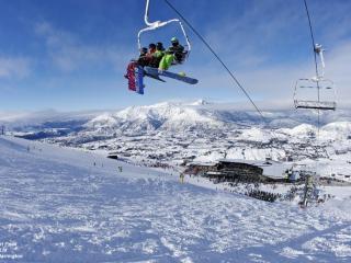 Coronet Peak and Chair Lift