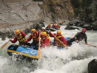 Shotover River Rafting + Thunder Jet