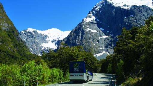 Coach to Milford Sound