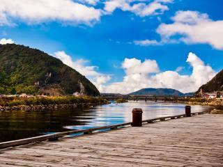 Greymouth River, New Zealand