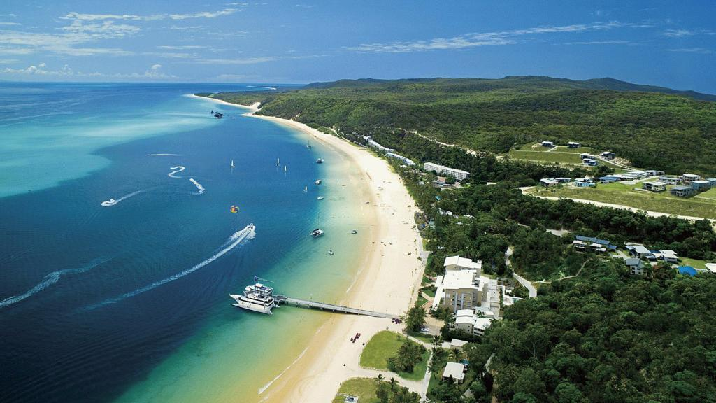 Tangalooma Day Trip Aerial