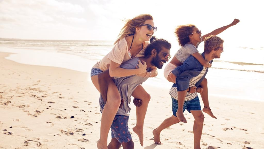 Generic - Young People on Beach