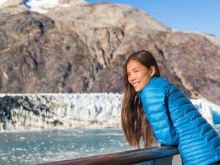 Cruise - Generic - Girl on Ship - Alaska