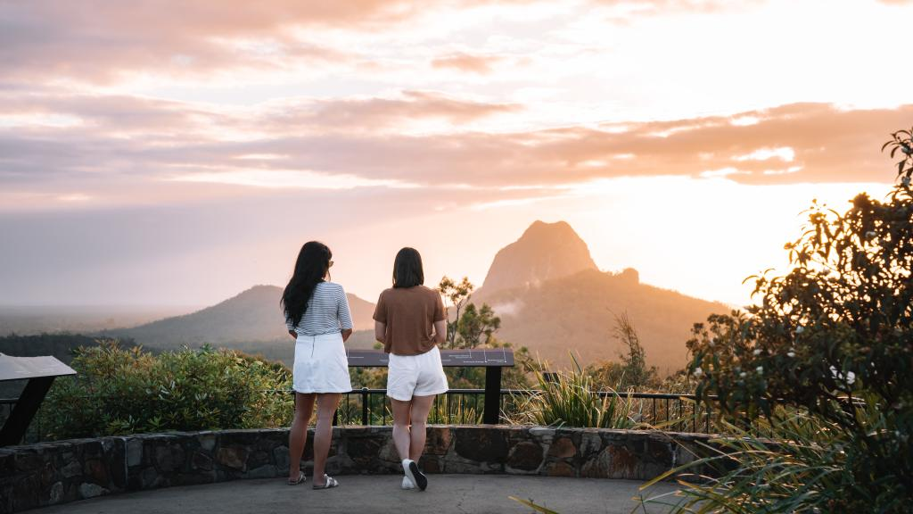Glass House Mountains Tourism and Events Queensland