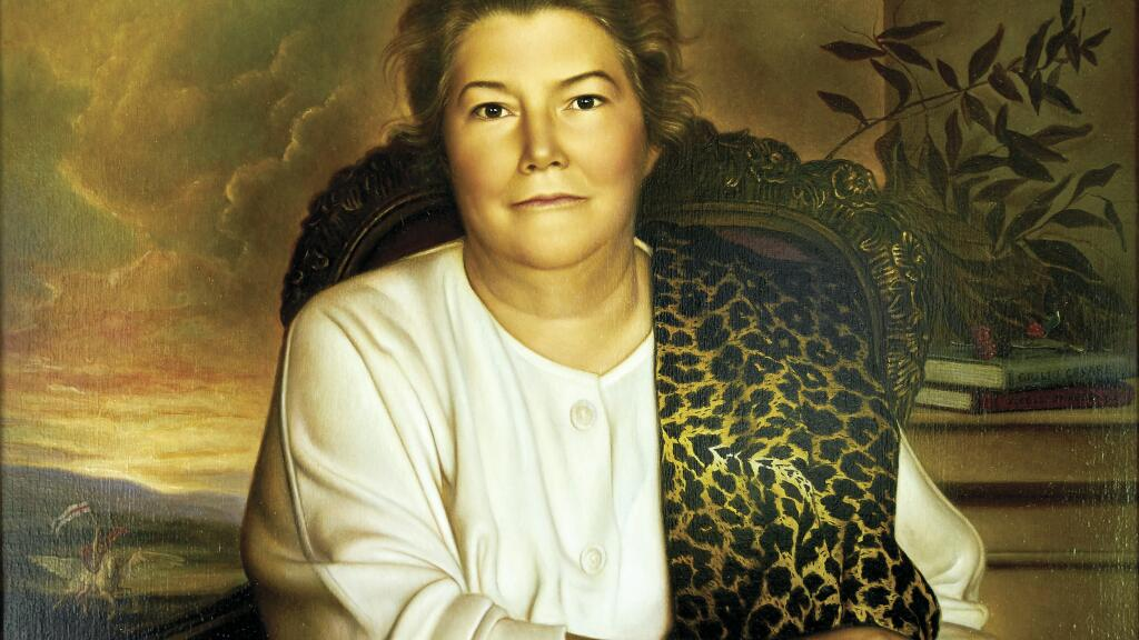Colleen McCullough painting