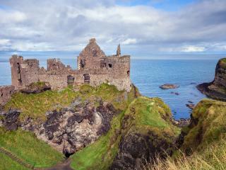 Dunluce Castle Ruins, County Antrim, Northern Ireland