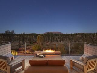 Luxury Tent Balcony