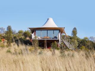 Luxury Tent Exterior