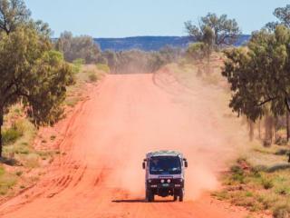Remote Outback roads