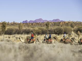 Camel Ride - Tourism NT - Helen Orr
